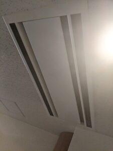 大阪府高槻市歯科医院の業務用エアコンクリーニング現場写真。外観